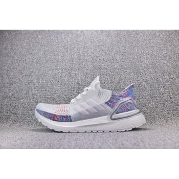 Adidas Women's Ultra Boost 5.0 19 - Cloud White/Crystal White/Blue B75877