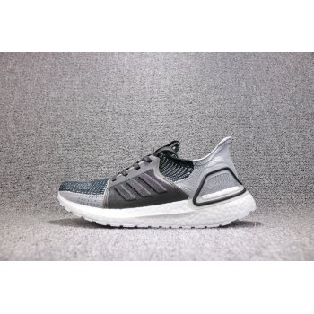 Adidas Ultra Boost 5.0 19 Core Black Grey Six Shock Cyan F35242