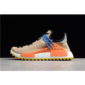 Pharrell Williams x Adidas NMD Hu Trail Pale Nude/Core Black/Yellow AC7361