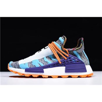 Cheap Pharrell x Adidas Afro Hu NMD Hi-Res Aqua/Core Black BB9528