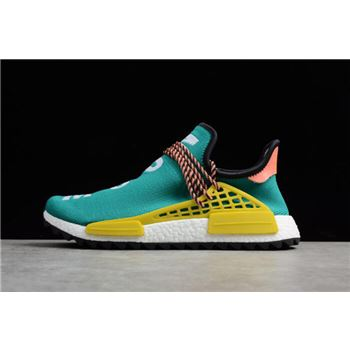 Pharrell x Adidas NMD Boost Race Hu Trail Sun Glow/Core Black-EQT Yellow AC7188