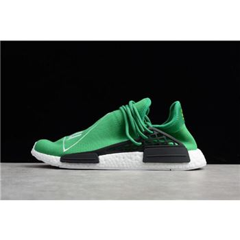 Pharrell x Adidas NMD Human Race Green/Footwear White-Black BB0620