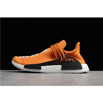 Pharrell x Adidas NMD Human Race Tangerine Orange/Black-White BB3070