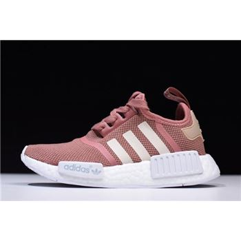 WMNS Adidas NMD R1 Raw Pink Rose Salmon Peach Shoes S76006