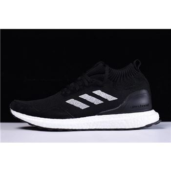 New Adidas Ultra Boost Mid Black/White Shoes On Sale