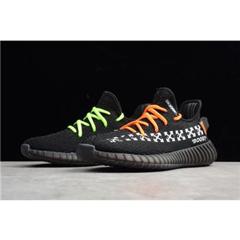 Virgil Abloh OFF-White x Adidas Yeezy Boost 350 V2 In Black Men's and Women's Size